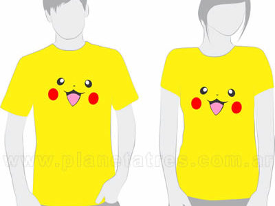 remeras estampadas córdoba, remeras de series, remera pokémon